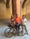 Tolosa - Bologna: un'amicizia su due ruote