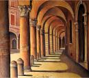 L'incanto dei portici nelle opere di Ivan Dimitrov