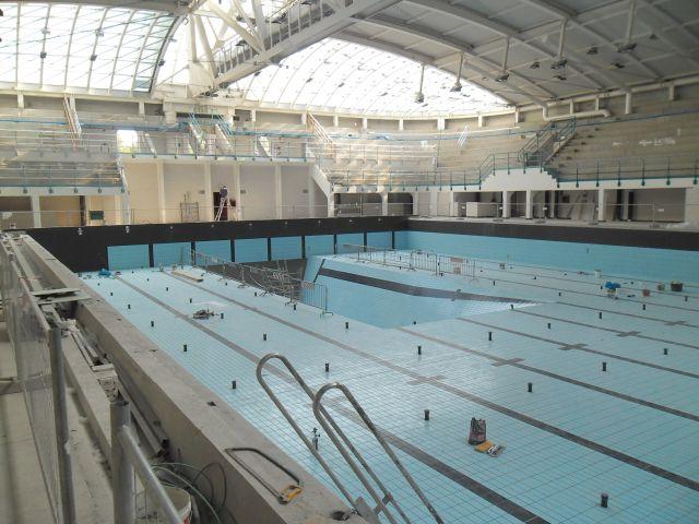 Completamento ristrutturazione piscina c longo lavori - Dimensioni piscina olimpionica ...
