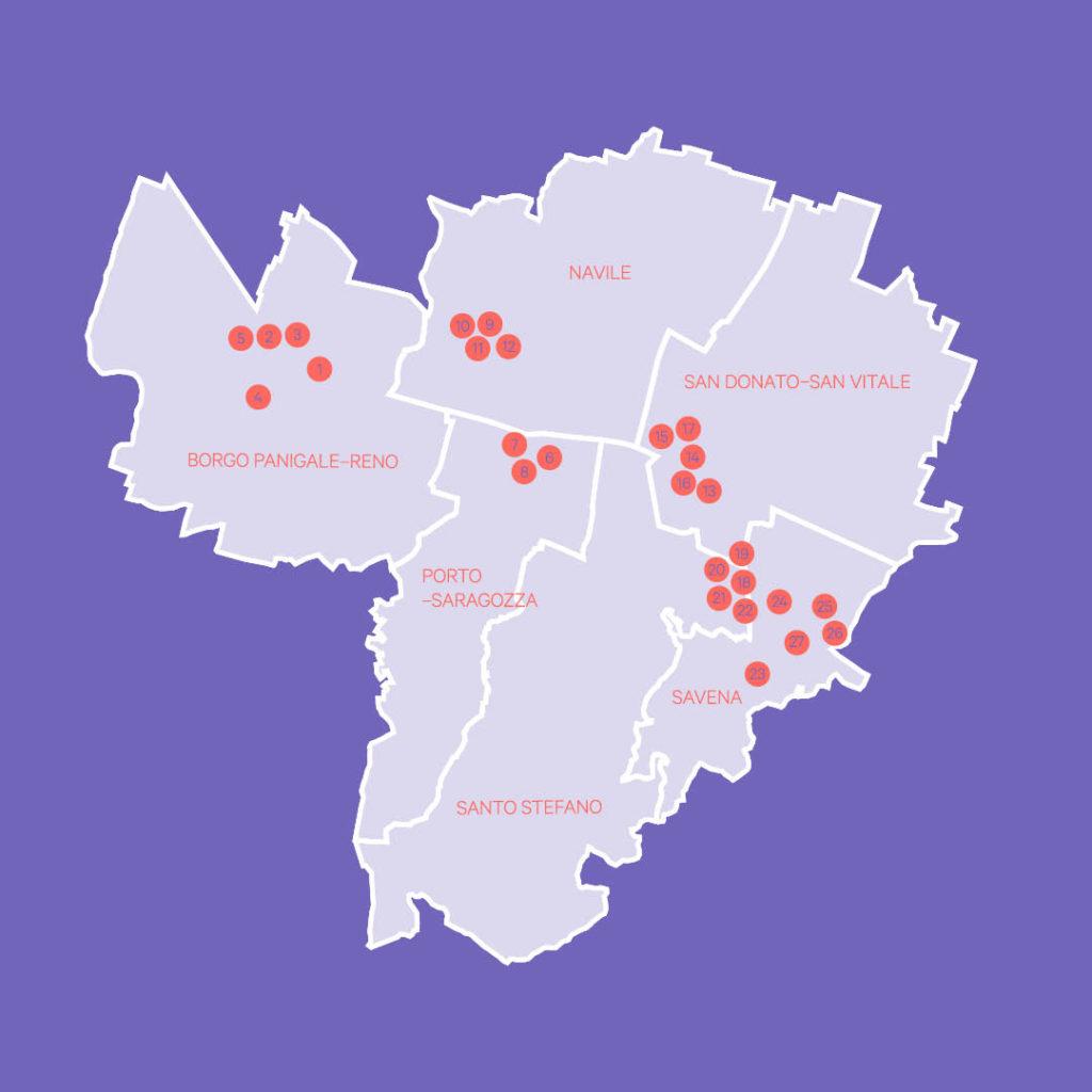 mappa progetti bilancio partecipativo