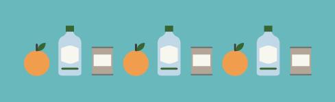 vetro, lattine e organico