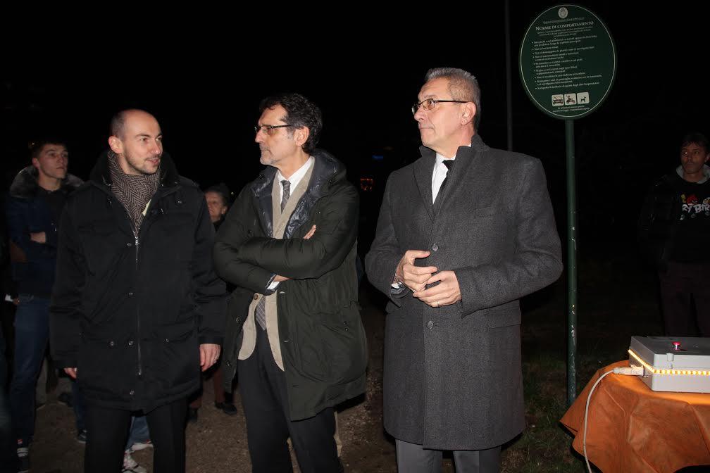 Comune e Enel Sole accendono la nuova illuminazione pubblica al Pilastro  Ip...