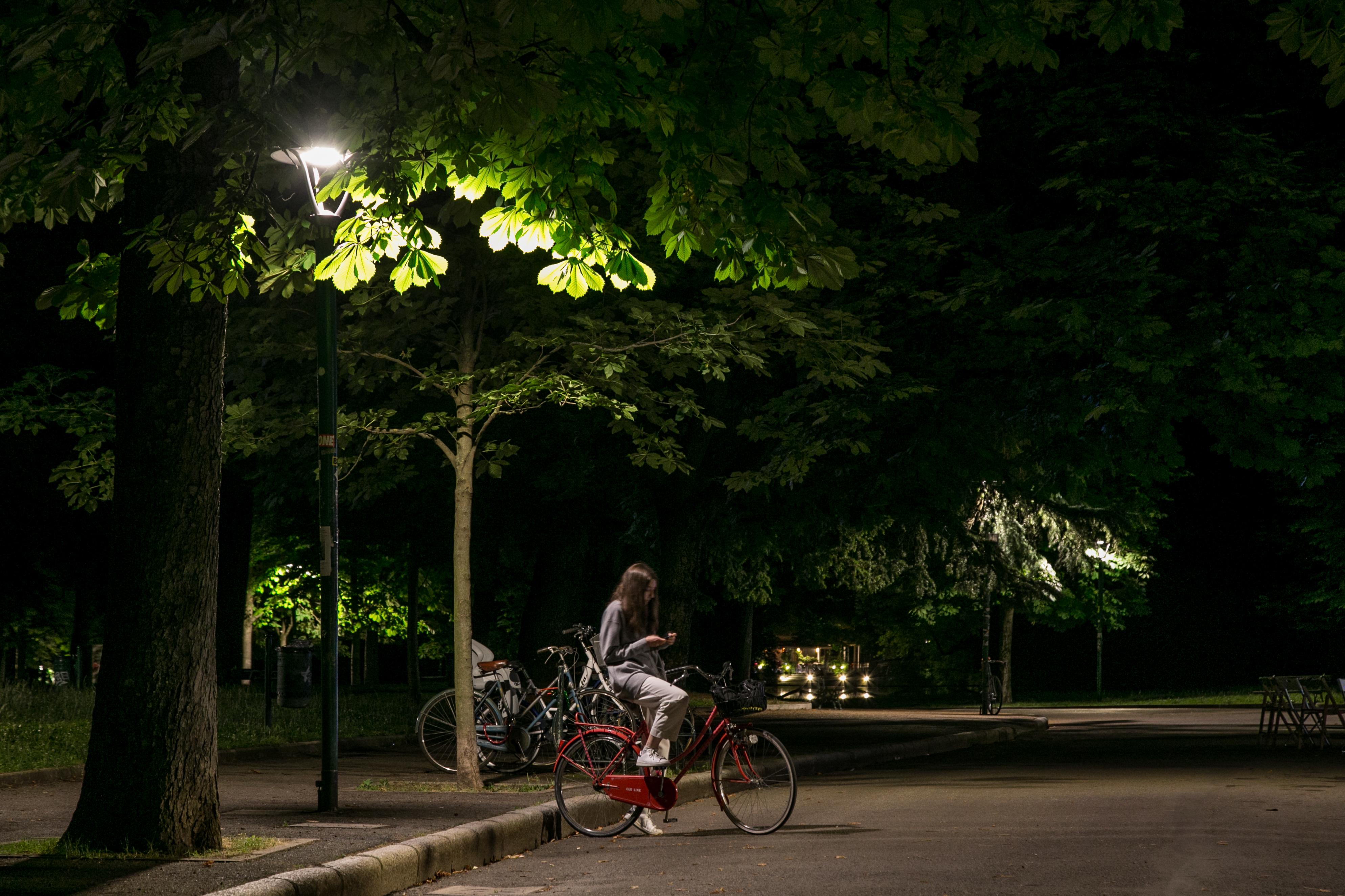 Nuova illuminazione per giardini margherita e montagnola iperbole