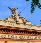 Immagine facciata Arena del Sole restaurata