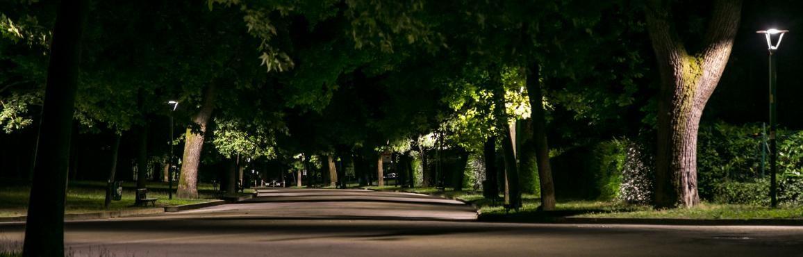 Giardini Margherita di notte