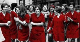 """donne in rosso"""