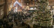 Albero di Natale in piazza Nettuno