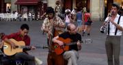 Artisti di strada a Bologna