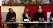 Tavolo relatori conferenza stampa Educalè