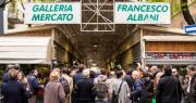 Mercato storico via Albani riqualificato