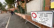 Area scolastica pedonale alle scuole Tambroni
