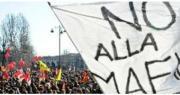 manifestazione contro le mafie