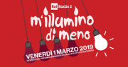 logo campagna M'illumino di meno 2019
