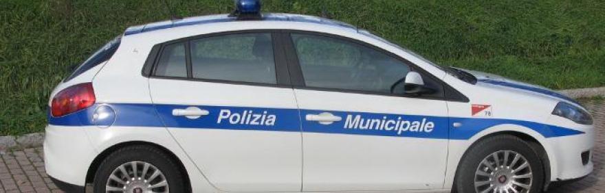Auto della Polizia Municipale di Bologna