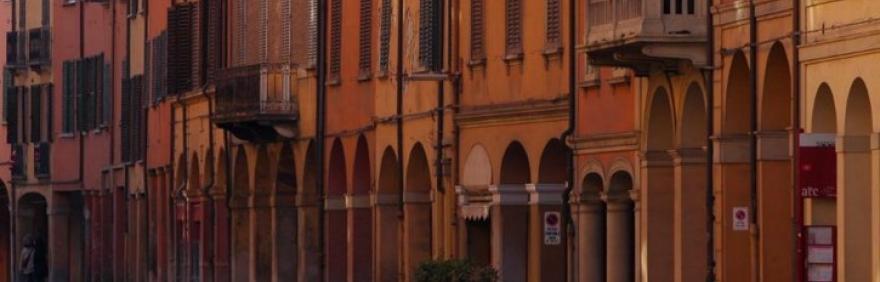 Foto portici Bologna