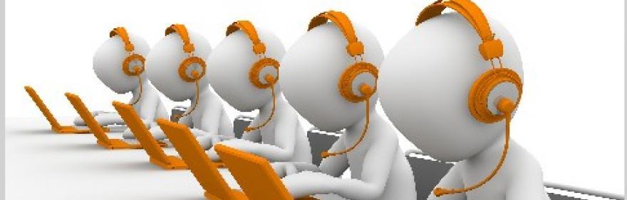 immagine disegno operatori telefonici