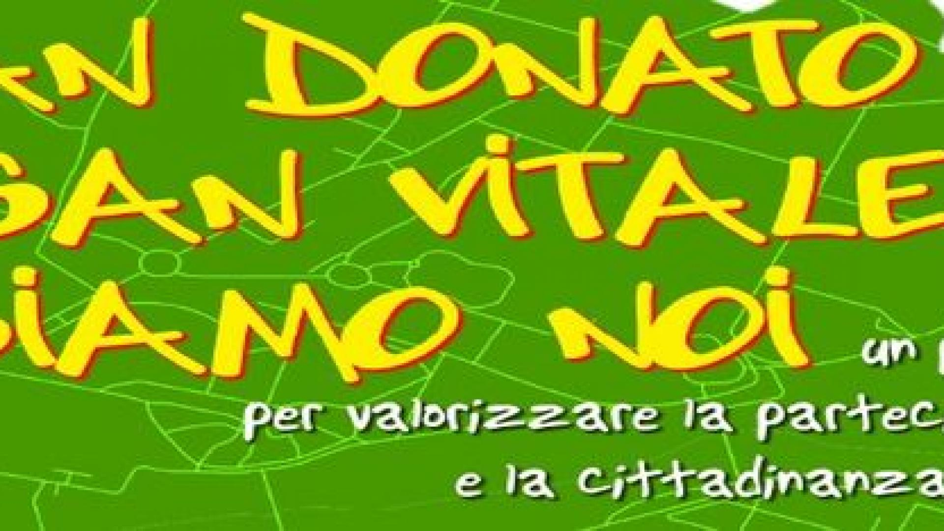 Testo San Donato-San Vitale siamo noi