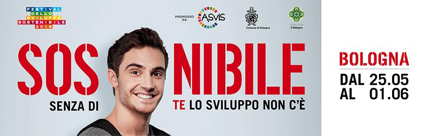 Locandina Festival dello Sviluppo Sostenibile 2018