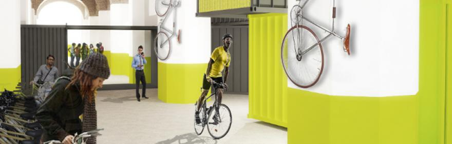rendering deposito bici