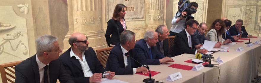 Firma del Protocollo Insieme per il Lavoro