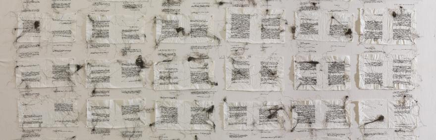 Maria Lai, I racconti del lenzuolo, 1984