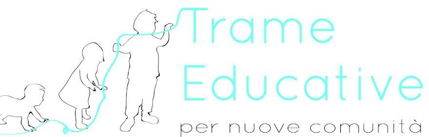 logo trame educative per nuove comunità