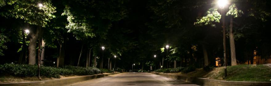 entrata parco della Montagnola