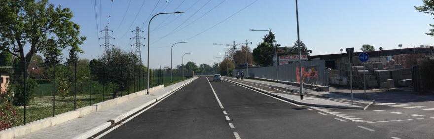 Nuova Roveretolo strada aperta