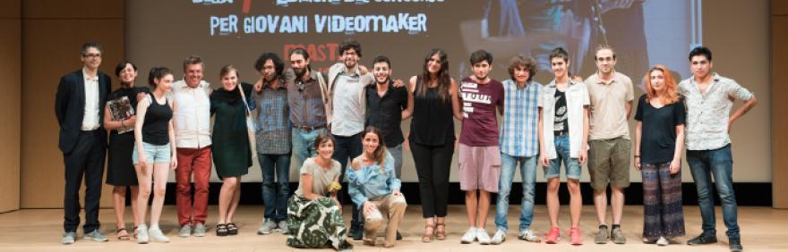 Foto di gruppo vincitori concorsco Take Action! 2017