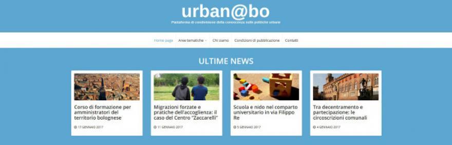 home page sito urbanbo