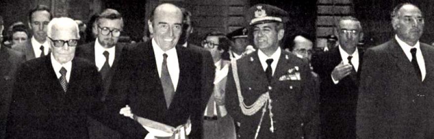 Renato Zangheri e Sandro Pertini