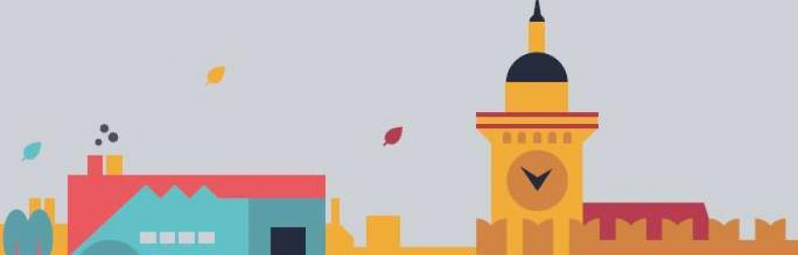 immagine grafica della città
