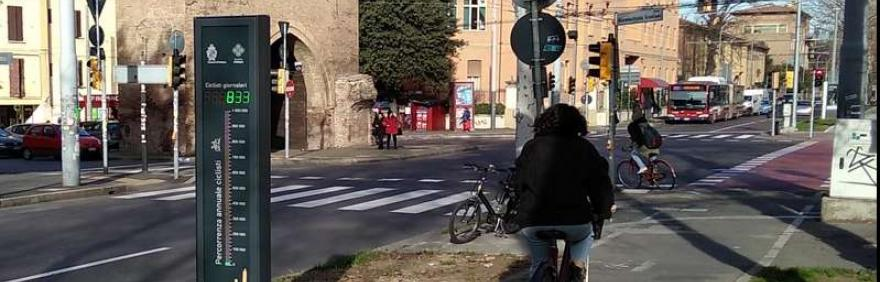 tangenziale delle bici con contabiciclette