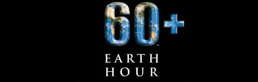 immagine della terra a forma del numero 60
