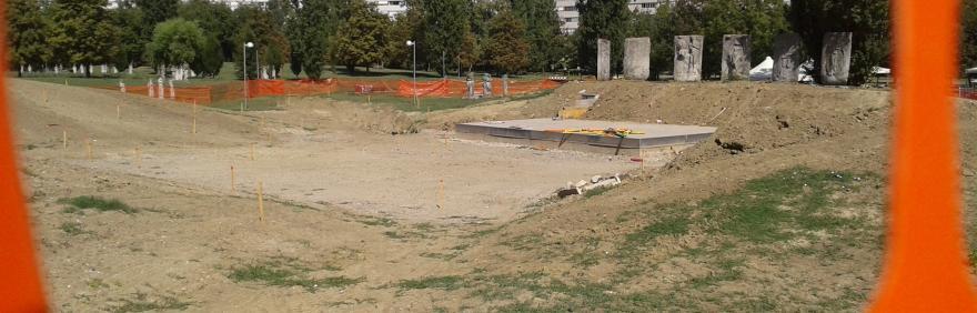 Lavori Arena Parco Pasolini Pilastro