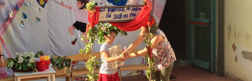 cerimonia passaggi ultimo giorno di scuola