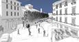 Rendering Piazza Aldrovandi
