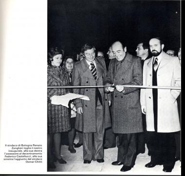 Inaugurazione del Centro civico del Quartiere Lame, 21 dicembre 1974