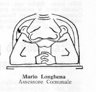 Caricatura di Mario Longhena