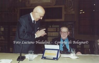 Nicola Matteucci e Giorgio Guazzaloca
