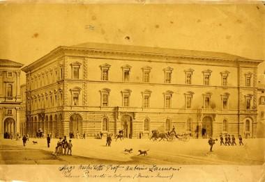 Palazzo Legnani Pizzardi, 1870 circa