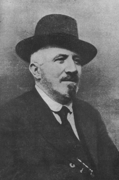 Foto ufficiale per l'Annuario parlamentare, 1918.