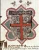 Stemma del Comune. L'antica insegna del Comune bolognese è costituita da una croce rossa in campo d'argento